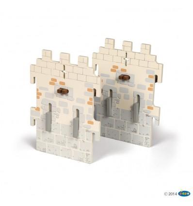 Set 6 château du Maître des armes (2 petits murs)