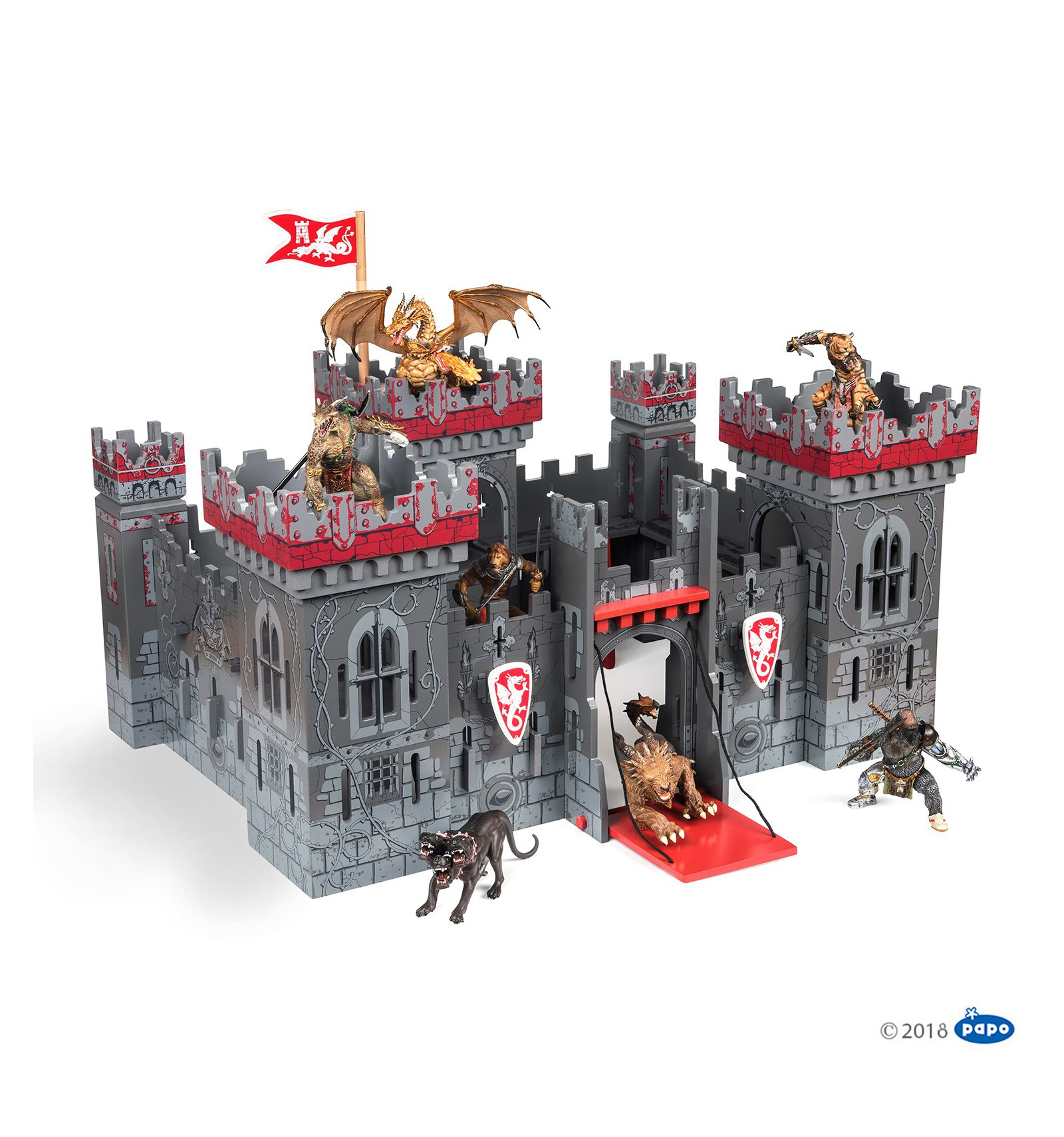 Papo 60052 Mutant Castle Playset The Mutants/' castle