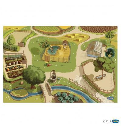 Teppich Bauernhof