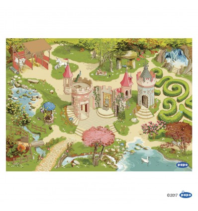 Enchanted world playmat