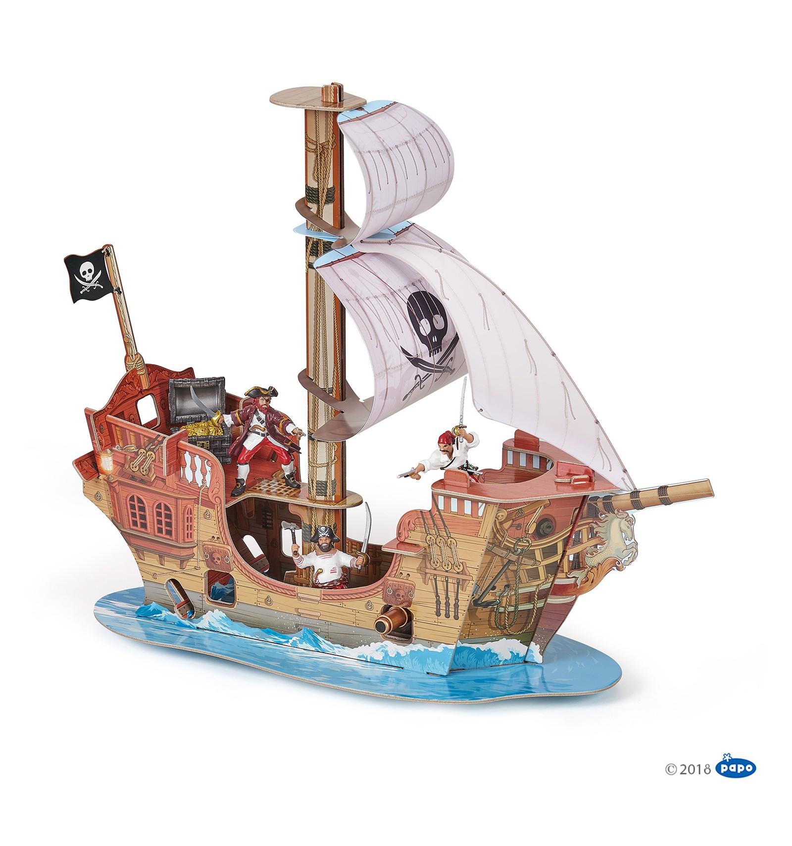 Le bateau pirate papo - Image bateau pirate ...